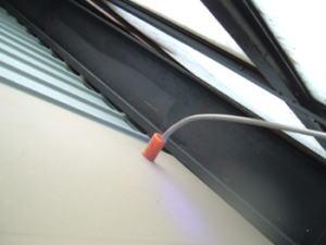 調査部位3 電気配線引き込み部分